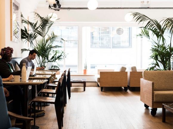 Affordable coworking space on Oxford Street