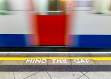 Mind the gap warning