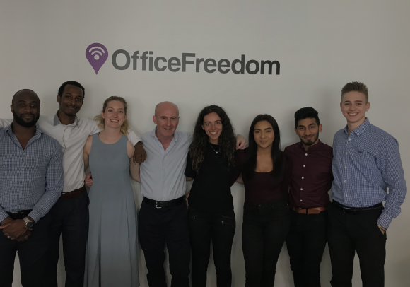 Office Freedom, rebrand, flexible workspace