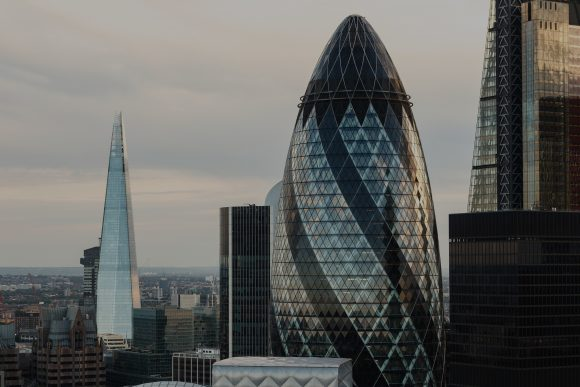How much does an office in The Gherkin cost?