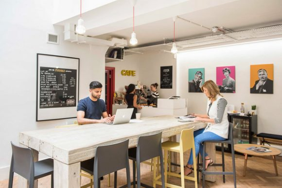 Affordable coworking space in Hatton Garden