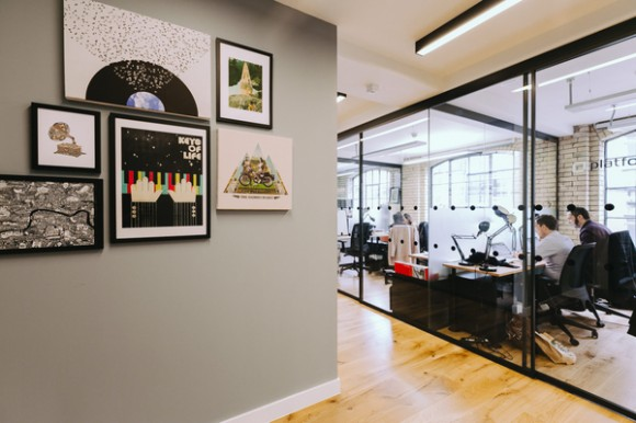 serviced office space WeWork at Spitalfields
