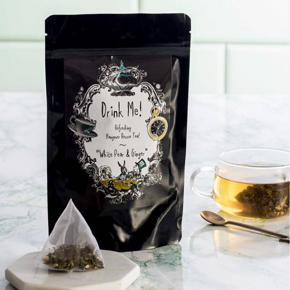 Hangover tea gift idea