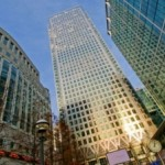 Regus business centre in Canary Wharf