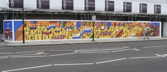 Hoarding Borough High Street, The Office Group