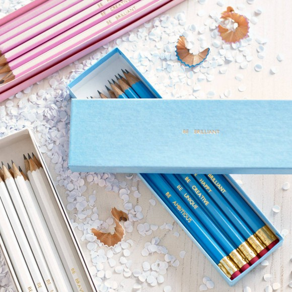 Personalised pencils gift idea