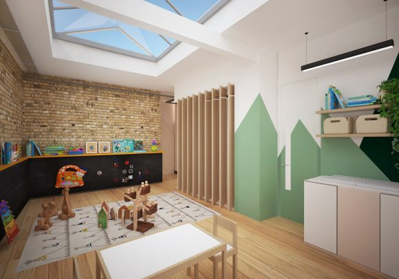 baby-friendly coworking space London