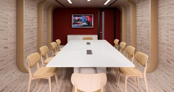 serviced office meeting room