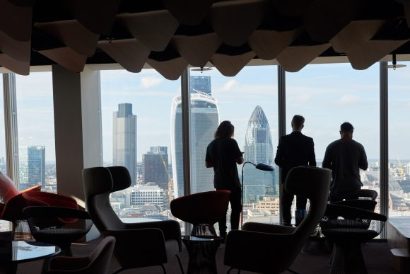How much does an office in The Shard cost?