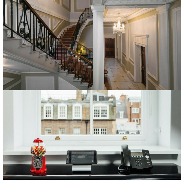 Hill Street serviced office Mayfair
