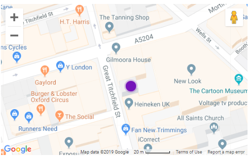 Map of Gilmoora House