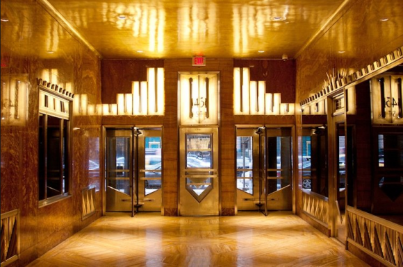 lobby of Chrysler building