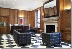 The reception area at 53 Davies Street